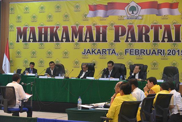 mahkamah partai golkar