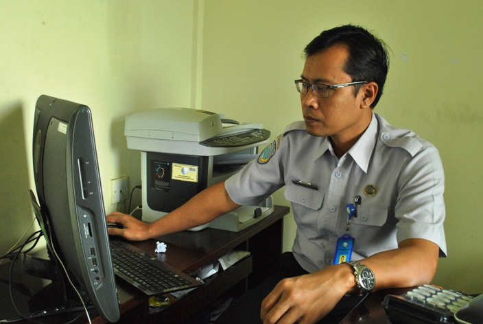 Kepala Stasiun BMKG Tanjungpinang, Hartanto. Foto (Inet)