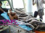 tersangka Curanmor ditembak Polisi saat dibawa ke rumah sakit. Foto RAMDAN