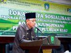 Syahrul Buka Sosialisasi Lokakarya
