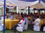Para undangan saat mengahdiri pisah sambut Kepala Rutan Tanjungpinang yang lama dengan yang baru