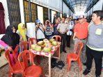 Bupati Bintan Apri Sujadi Saat Meninjau Pasar Tambelan