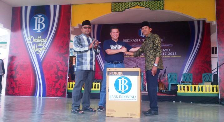 Lis Saat Menghadiri Acara BI di Pulau Penyengat. Foto NOVENDRA
