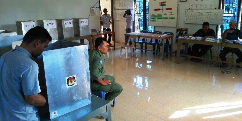 Pemilihan Ketua RT dan RW Kampung Wonosari. Foto NOVENDRA