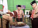 Wakil Bupati Bintan, Dalmasri Syam Usai Melantik Pembimbing Gerakan Pramuka