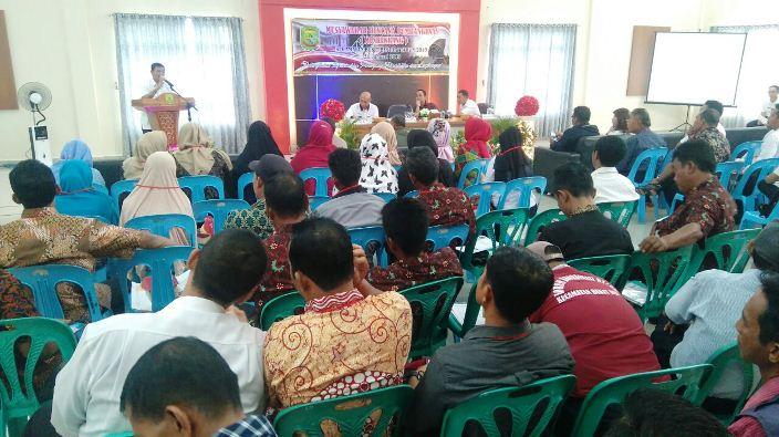 Pj Wali Kota Tanjungpinang, Raja Ariza Disela - Sela Musrenbang Kecamatan Bukit Bestari. Foto NOVENDRA