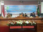 Ketua DPRD Natuna, Yusripandi Saat Memimpin Rapat Paripurna