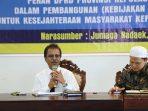 Ketua DPRD Kepri, Jumaga Nadeak Saat Memberikan Kuliah Umum di Kampus UMRAH
