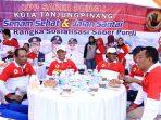 Wali Kota Tanjungpinang, Syahrul Saat Duduk Bersama UPP Saber Pungli. Foto Istimewa