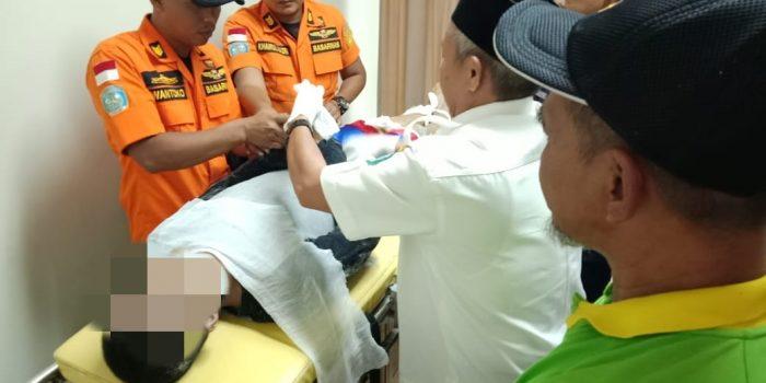 Salah Satu Korban Kritis Dalam penanganan intensif