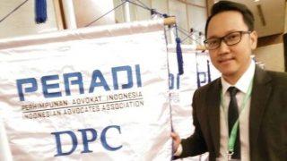Sekretaris DPC PERADI Tanjungpinang, Rio Irwan Saputra SH,MH