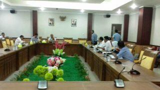 Suasana Rapat Diruang Komisi III DPRD Kota Batam. Foto JIHAN