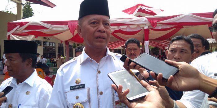 Wali Kota Tanjungpinang, Syahrul S.Pd usai kegiatan silaturahmi bersama Tim Orange