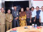 Ketua FTZ Kawasan Tanjungpinang, Den Yealta Foto Bersama Walikota Tanjungpinang, Syahrul