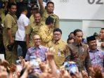 Mendagri, Tjahjo Kumolo Saat Mendampingi Presiden Jokowi