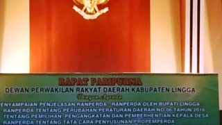 Ruang Rapat Paripurna DPRD Kabupaten Lingga