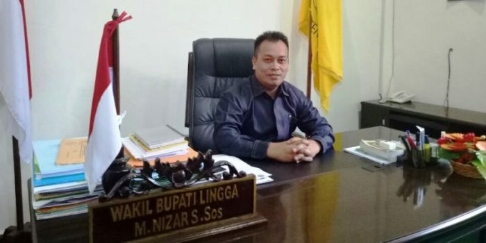 Wakil Bupati Lingga, Muhammad Nizar.