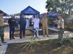 Danpuspenerbal, Laksamana Pertama TNI Dwika Tjahja Setiawan SH saat didampingi Gubernur Kepri dan Wali Kota Tanjungpinang