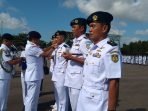 Serah terima jabatan (Sertijab) Danlanudal Tanjungpinang