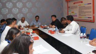 Rombongan Komisi I DPRD Kepri Saat Rapat Bersama KPU Kota Batam