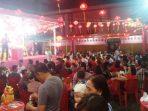 Suasana Pelelangan di Kelentang Cetya Dharma Ratna Singkep