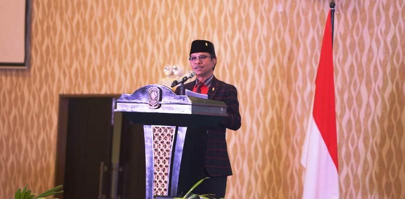 Ketua DPRD Kepri, Jumaga Nadeak Saat Pembukaan Musrenbang