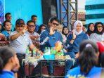Bupati Bintan, Apri Sujadi Bersama Istri Saat Acara Pembukaan O2SN