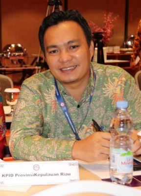 Ketua KPID Provinsi Kepri, Hengky Mohari