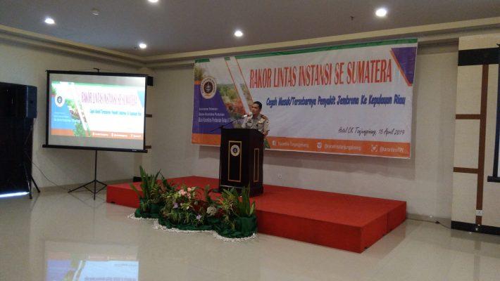 Kepala BKP Kelas II Tanjungpinang, drh Donny Muksydayan, M.Si