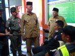 Wali Kota Tanjungpinang, Syahrul S.Pd saat kunjungi KPU Kota Tanjungpinang
