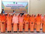 Para Pengurus GOW Kabupaten Natuna Periode 2018-2022