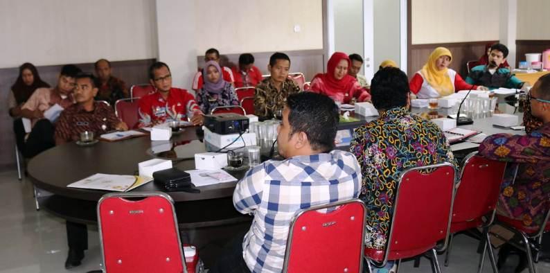 Suasana Rapat di Dispora Tanjungpinang