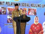 Walikota Tanjungpinang, Syahrul Saat Menyampaikan Sambutannya Diacara UPSK