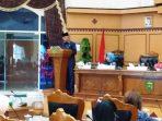 Walikota Tanjungpinang Syahrul saat menyampaikan Nota Pengantar LKPj Walikota Tanjungpinang 2018.