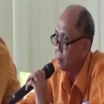Ketua DPD Partai Hanura Provinsi Kepri versi Bambu Apus (BA), Albert Sutan