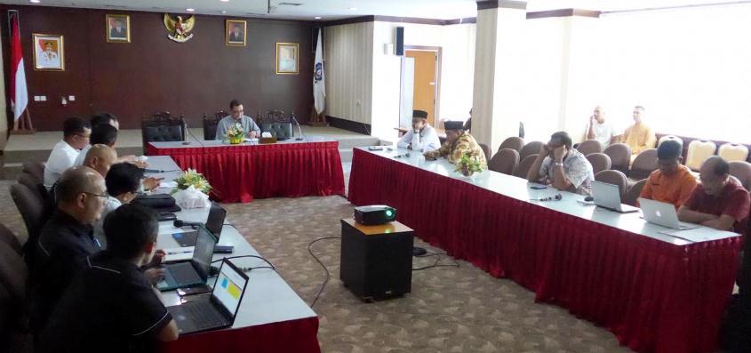 Komisi III DPRD Kepri Saat RDP Dengan Bright PLN Batam
