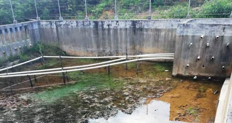 Kondisi DAM Air Bersih Desa Pekaka