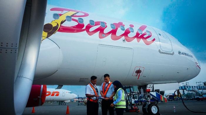 Pesawat Batik Air. Foto Istimewa