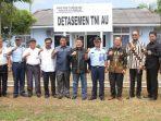 Rombongan Komisi I DPRD Kepri Saat Foto Bersama di Detasemen TNI AU Bandara Hang Nadim Batam