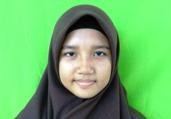 Siswi Kelas VIII. A MTs Aqidatunnajin Daik, Diah Ramadhani