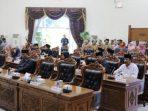 Anggota DPRD Kota Tanjungpinang Yang Hadir Pada Paripurna Penyampaian Tujuh Ranperda Kota Tanjungpinang Tahun 2019