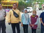 Anggota Polres Kuansing Saat Foto Bersama Warga
