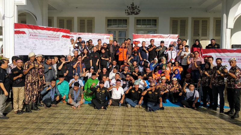 Deklarasi Tanjungpinang Kepulauan Riau, #kamimenolakkerusuhan, Damailah Indonesiaku.