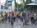 Gowes Sepeda Bhayangkara Polres Bintan bersama TNI dan Masyarakat Kabupaten Bintan
