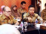 Ilustrasi - Ketua Komisi IV DPRD Kepri, Teddy Jun Askara Saat Rapat Bersama Dinas Pendidikan Kepri. Foto Tanjungpinang Pos