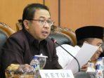 Ketua DPRD Kota Tanjungpinang, Suparno Saat Sidang Paripurna Jawaban Walikota Terhadap Pandum Fraksi