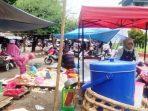 Kondisi Pasar rakyat Teluk Kuantan. Foto Zul