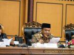 Wakil Walikota Tanjungpinang, Rahma Bersama Wakil Ketua I DPRD Kota Tanjungpinang, Ade Angga dan Wakil Ketua II, Ahmad Dani Saat Paripurna