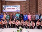Walikota Tanjungpinang, Syahrul Saat Foto Bersama 12 Siswa SMPN 4 Tanjungpinang