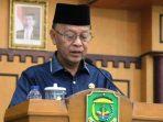 Walikota Tanjungpinang, Syahrul Saat Menyampaikan Jawaban Terhadap Pandum Fraksi